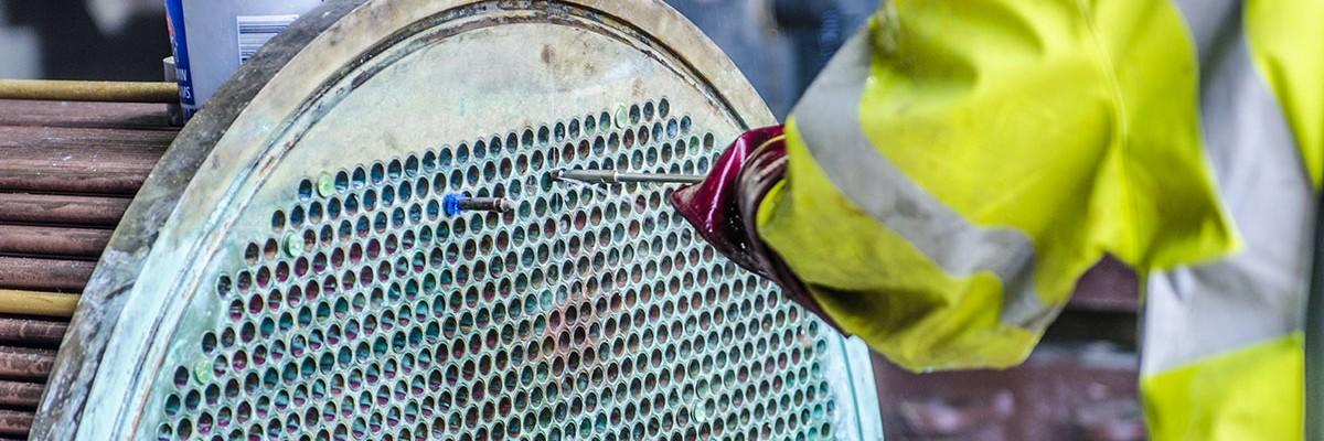 Фото ремонта кожухотрубного теплообменника
